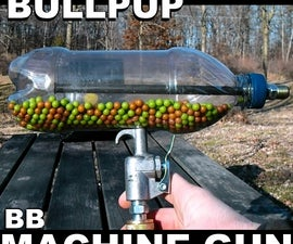 Make an Airsoft Machine Gun from a Soda Bottle