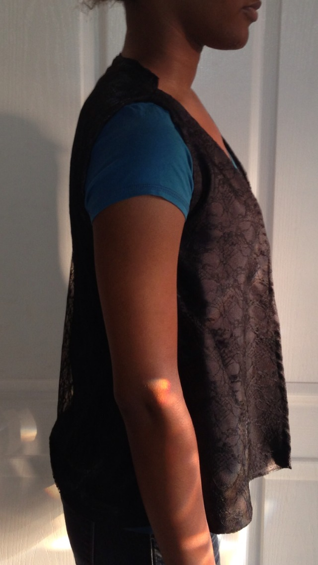Picture of Lace and Satin Vest