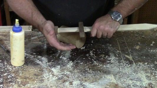 Glue Up the Pommel.