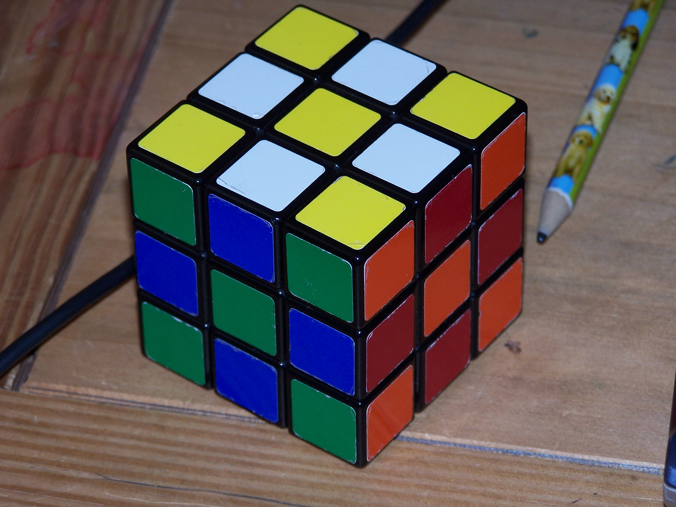 Picture of The Simplest Way to Solve the Rubix Cube