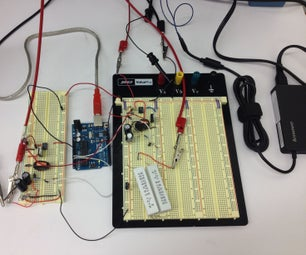 Variable 0-12V, Digitally Controlled, Power Supply Using a Laptop Wall Wart & Ardunio
