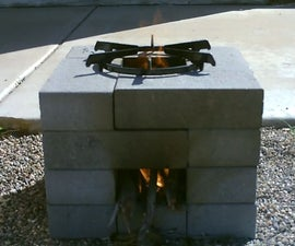 The 16 Brick Rocket Stove - Quick (30 Second) Build - Easy DIY - Simple Instructions