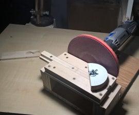 Dremel disk sander - easy and cheap