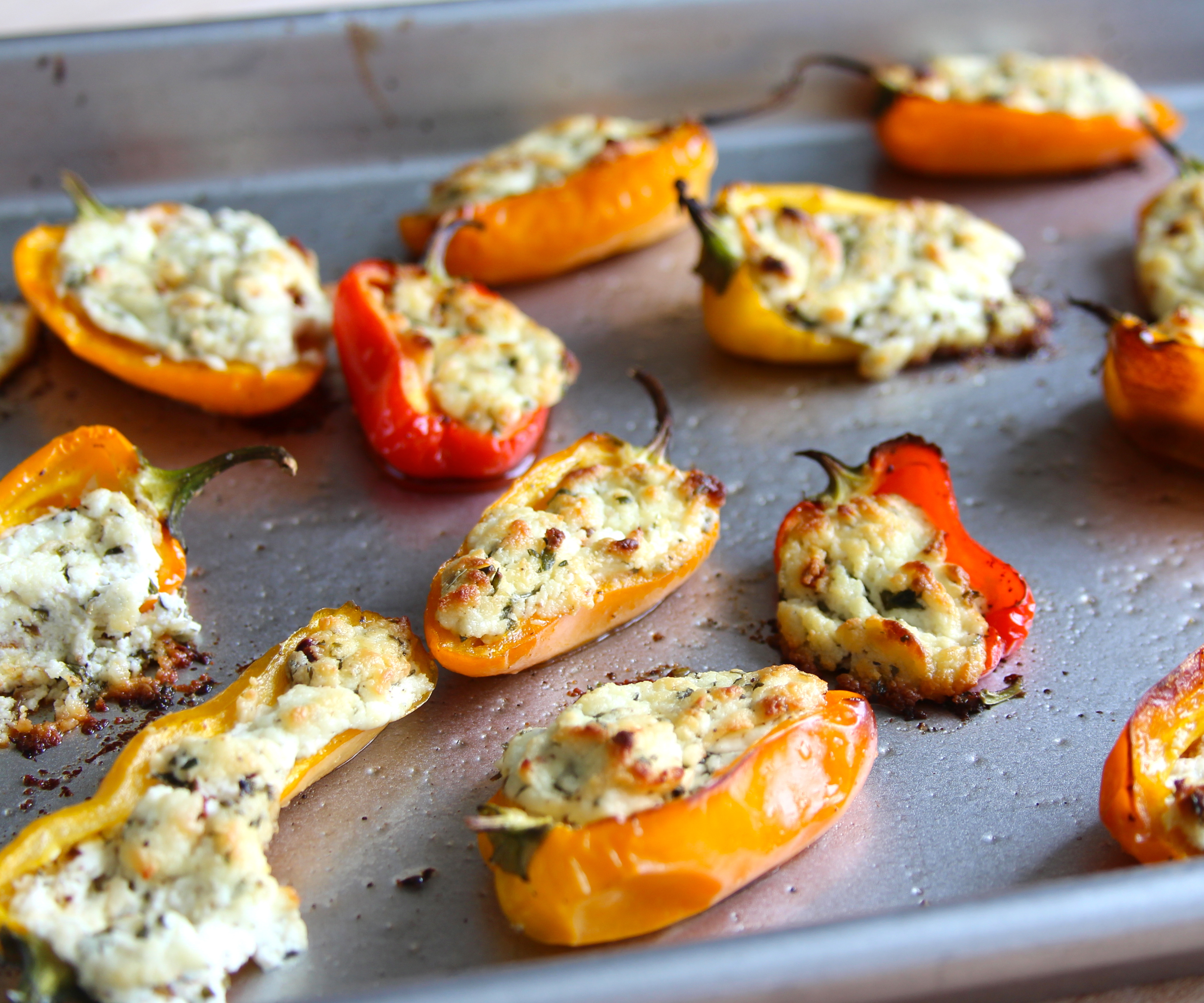 Picture of Goat Cheese Stuffed Peppers