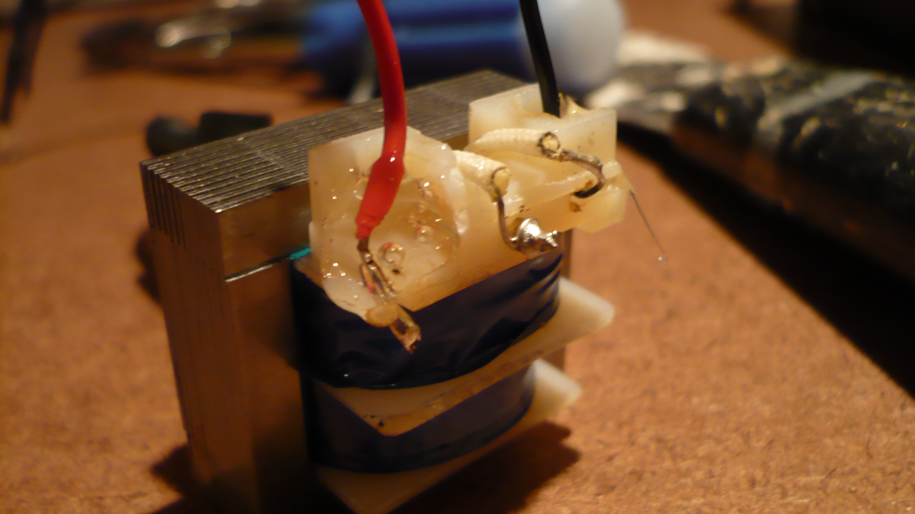 Picture of Assembling the LED/Rectifier Unit