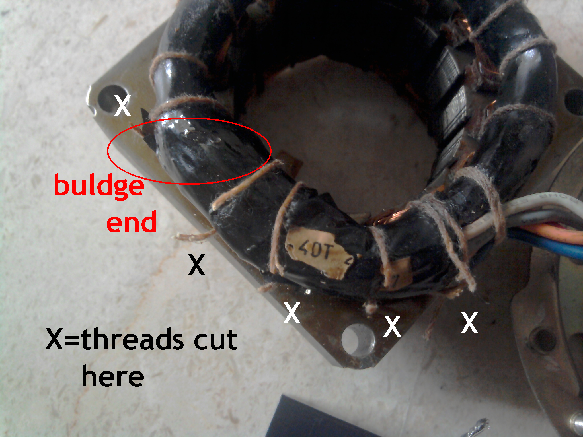 Fan repair 4 steps picture of thermal fuse replacement picture of thermal fuse replacement keyboard keysfo Images
