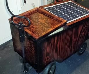Solar Powered Festival Cart