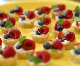 Cheesecake Fruit Tarts