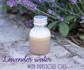 Lavender Face Water / Makeup Remover With Quality Oils