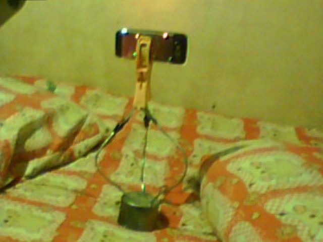 Helping Hand Mobile Phone Tripod (2-in-1) From Junk (kind a Universal)