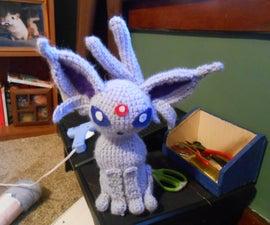 Crochet Espeon