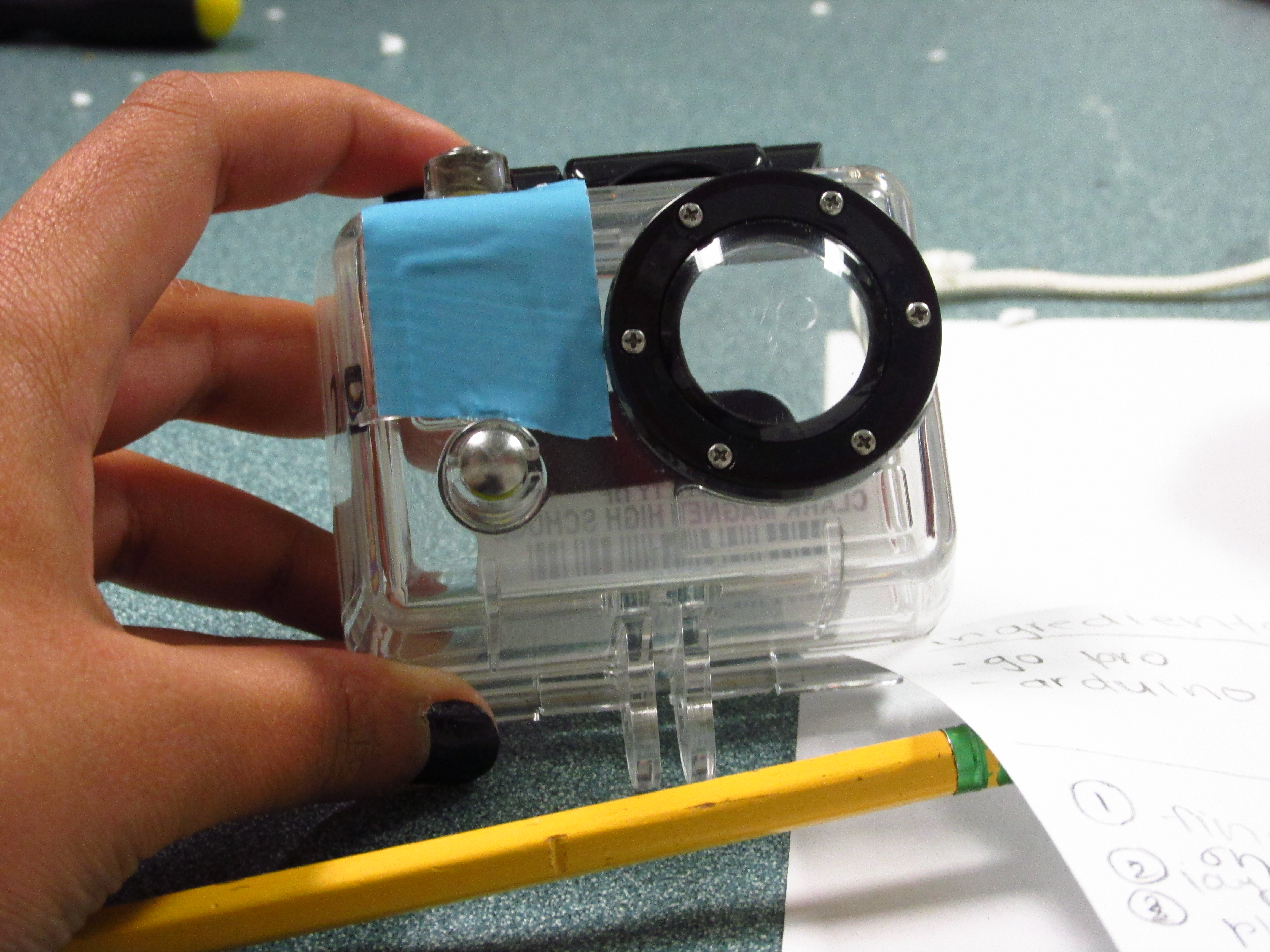Picture of Mounting Camera