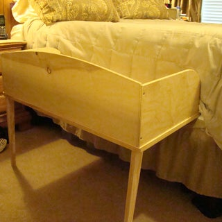 Make a Sidecar Cosleeper in 2 Hours With Standard Lumber.