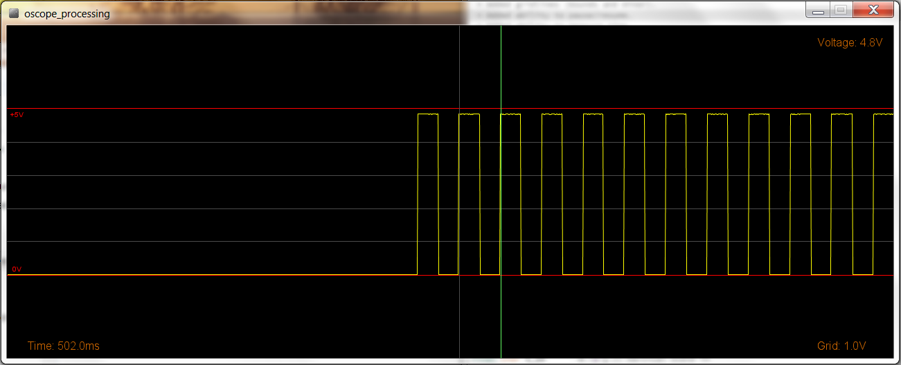 Picture of Arduino - Improved Poor Man's Oscilloscope