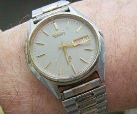 Cheap Fix for a Quartz Watch