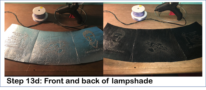 Assemble the New Lampshade