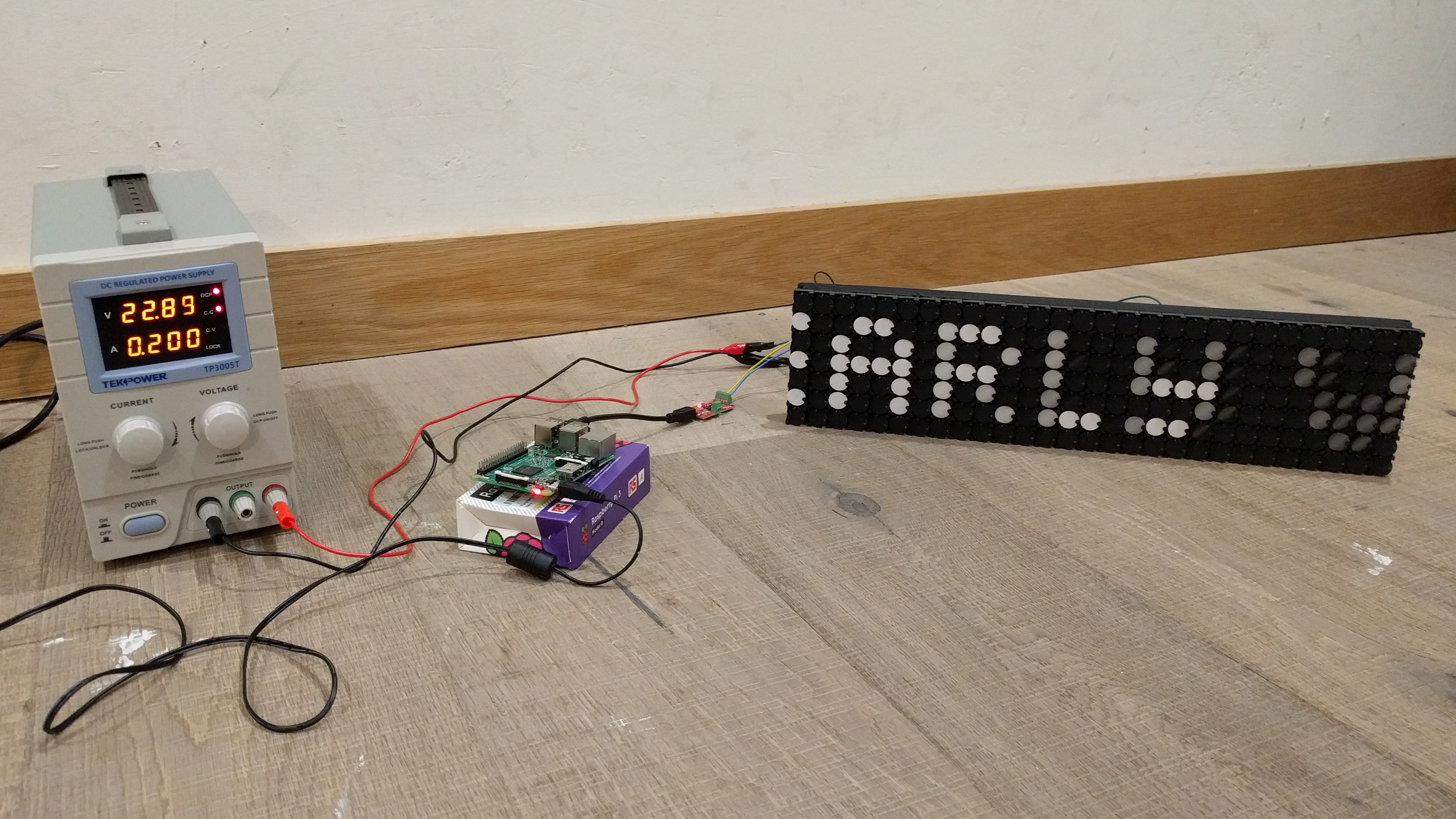 Picture of Howto Flipdot With a Raspi