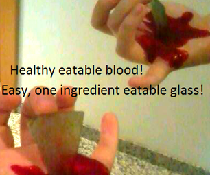 Healthy Blood and Crunchy Glass