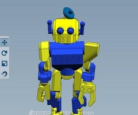 THE AMAZING 123D ROBOT