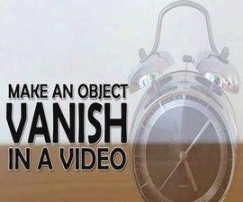 Make Stuff Vanish in a Video!