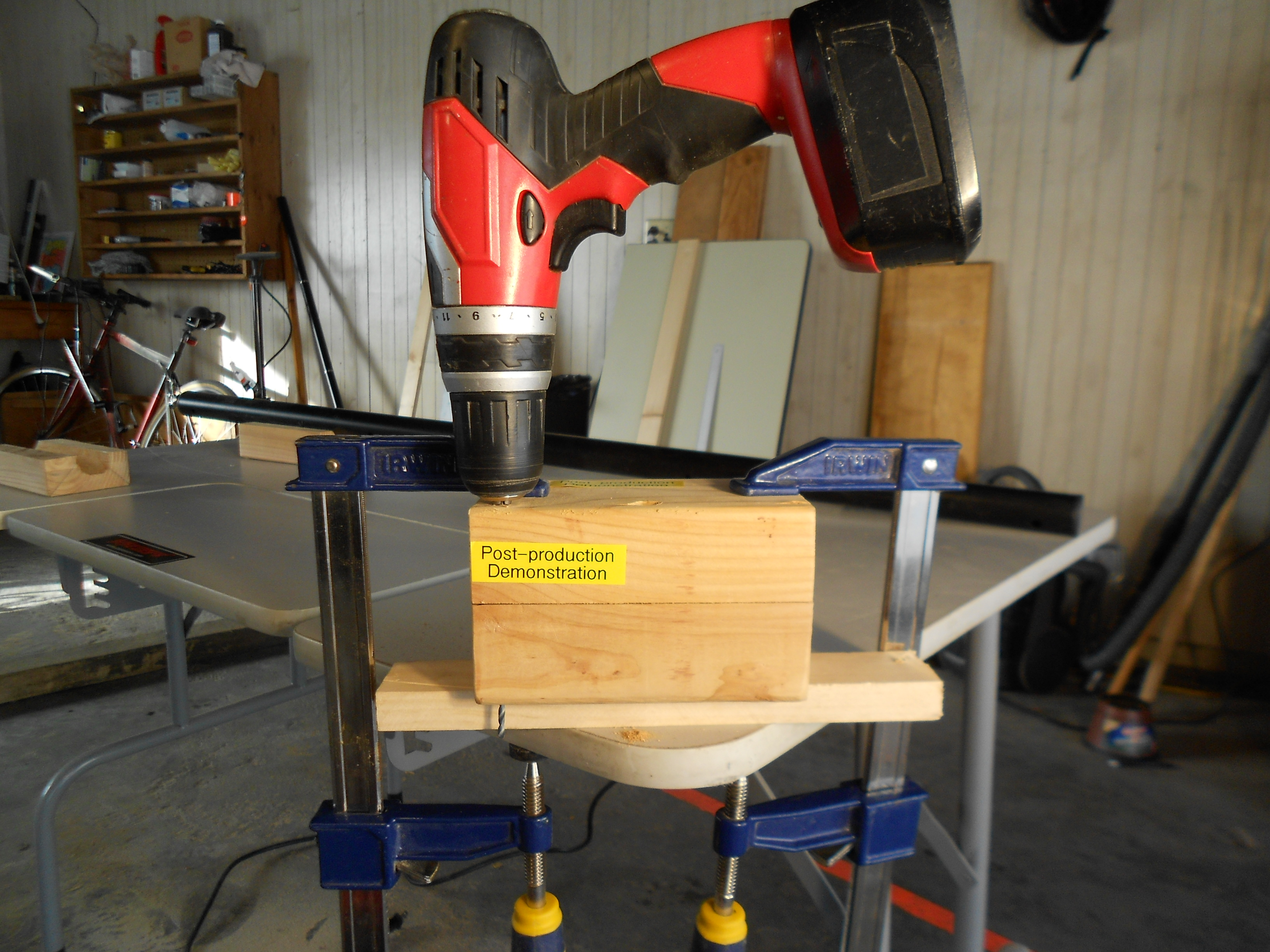 Picture of MAKE CLAMPS Part 2