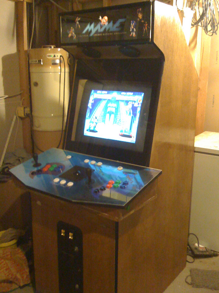 Picture of My MAME Cabinet