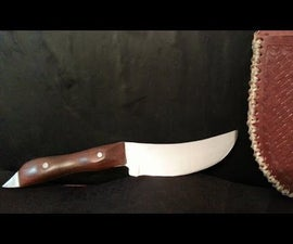 How to make a knife from a lawn mower blade
