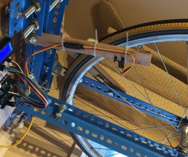 Bicycle Wheel Truing Stand With Digital Distance Senor