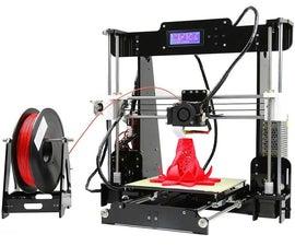 A to Z of Anet A8 DIY 3D Printer Kit