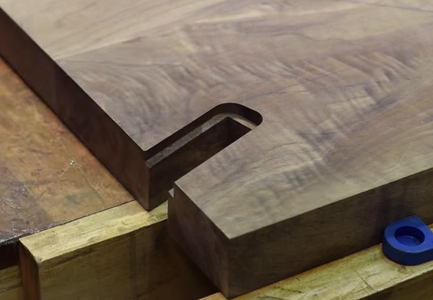 Joinery for Back Legs