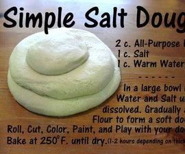 How to Make Salt Dough- ELL