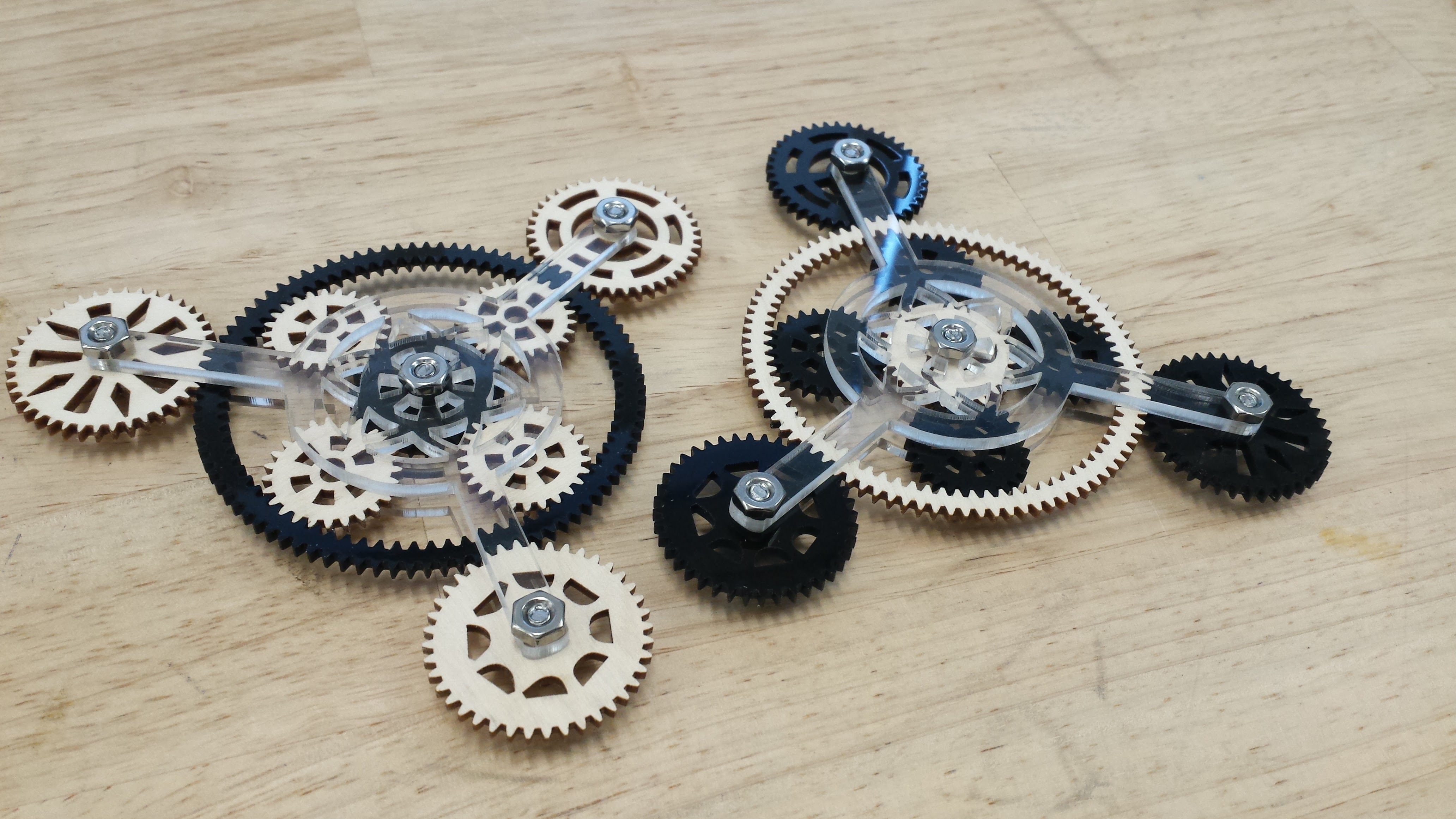 Picture of Wooden Gear Trains