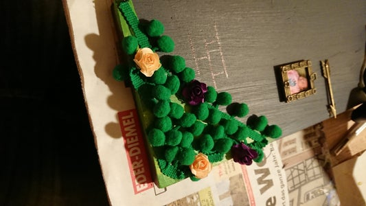 Adding Gras and Flowers