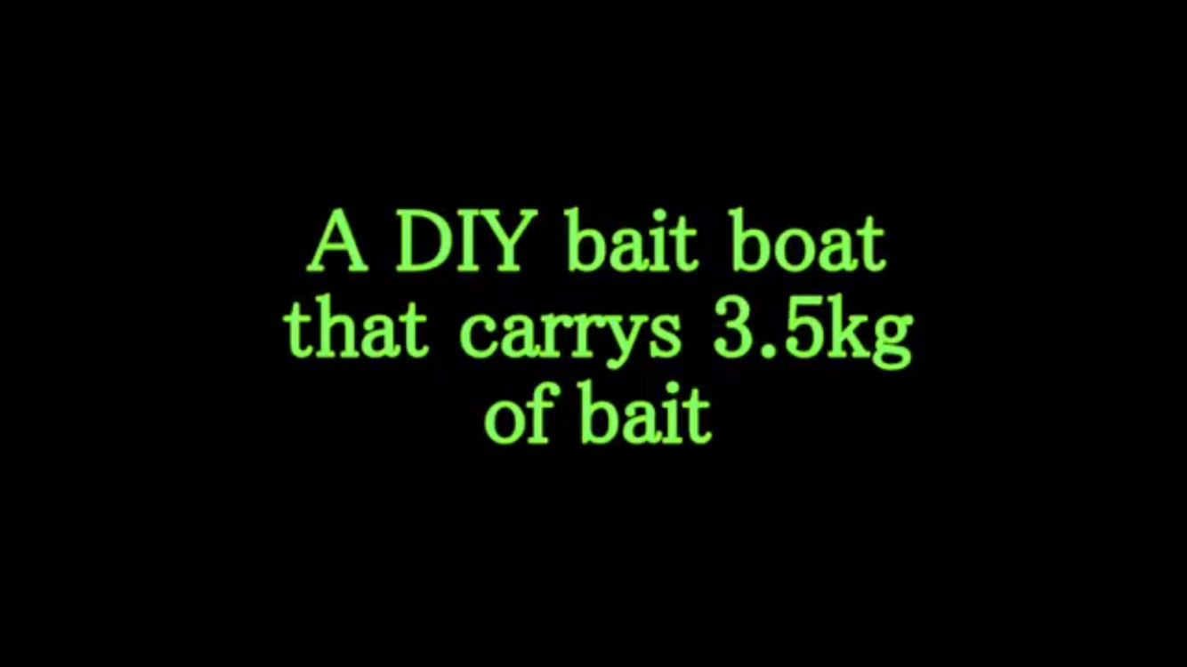 Picture of  the Rod Donkey Diy Bait Boat
