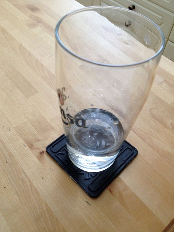 Sugru and Craft Foam Coaster
