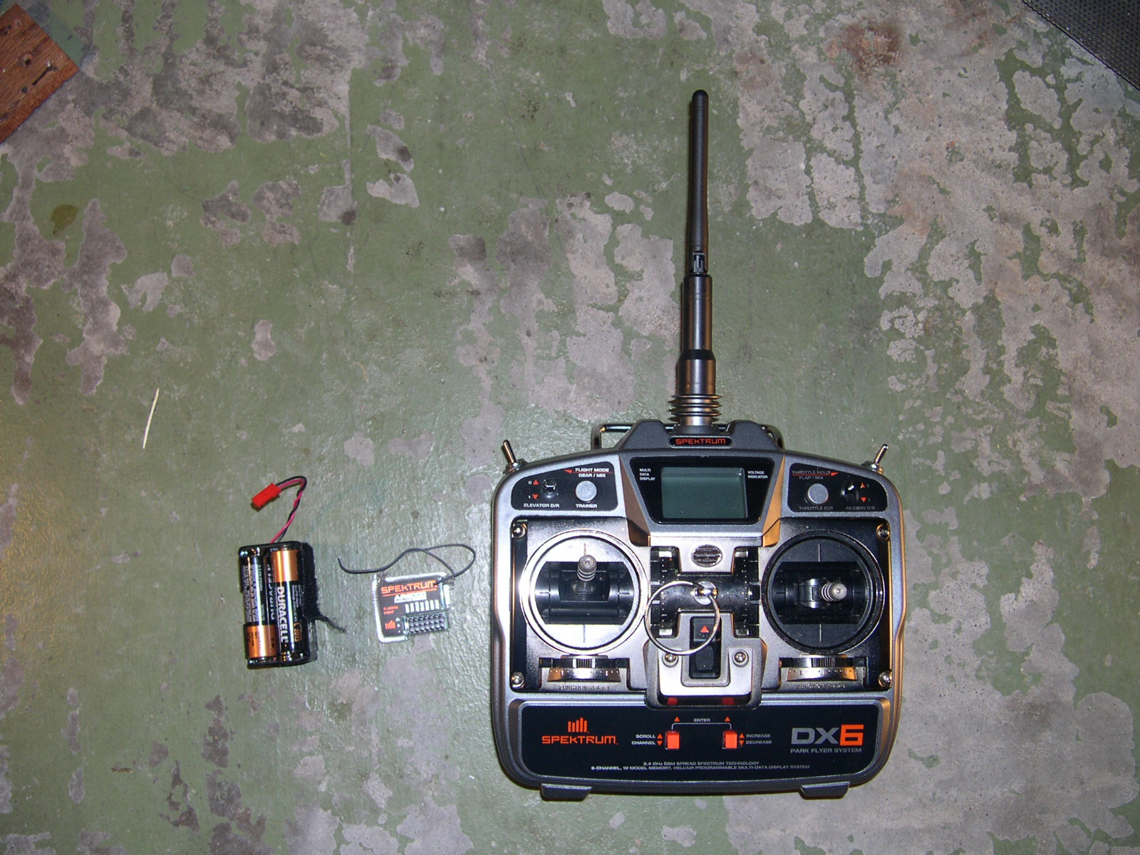 Picture of Main Components: Radio Control