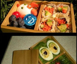 Wooden Bento Lunch Box