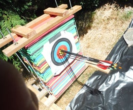 Ultra-Durable Foam Archery Target