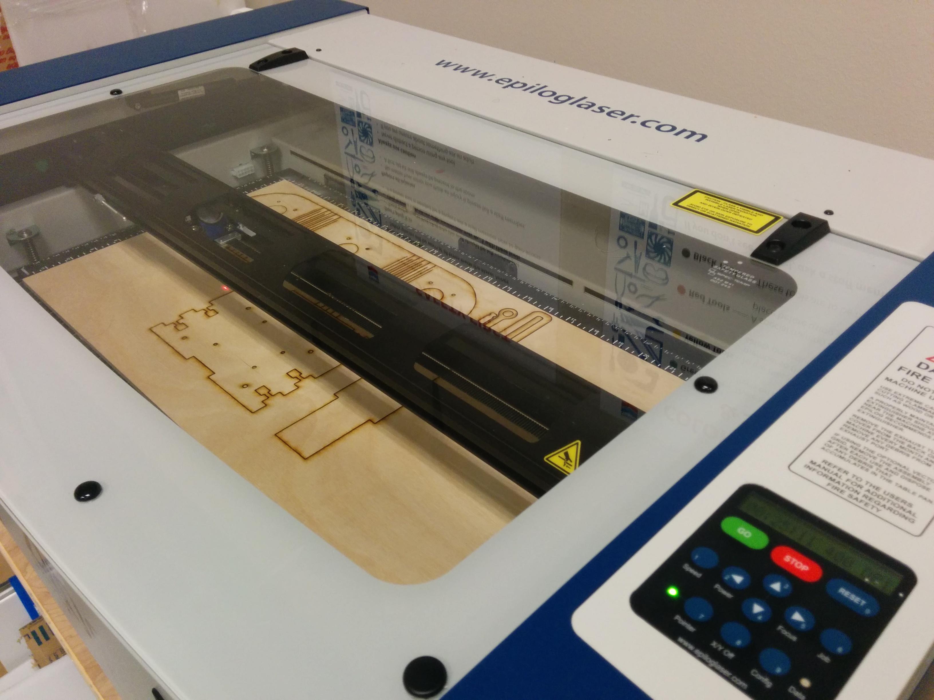 Picture of Laser Cut & 3D Print