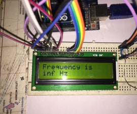 Frequency Counter With Arduino