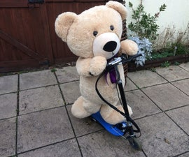 Radio Controlled Electric Teddy Scooter