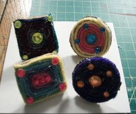 Yarn Cork Push Pins