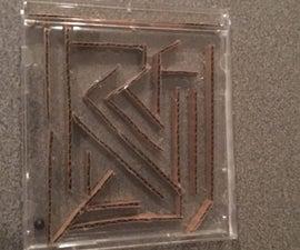 CD Cover Maze Puzzle