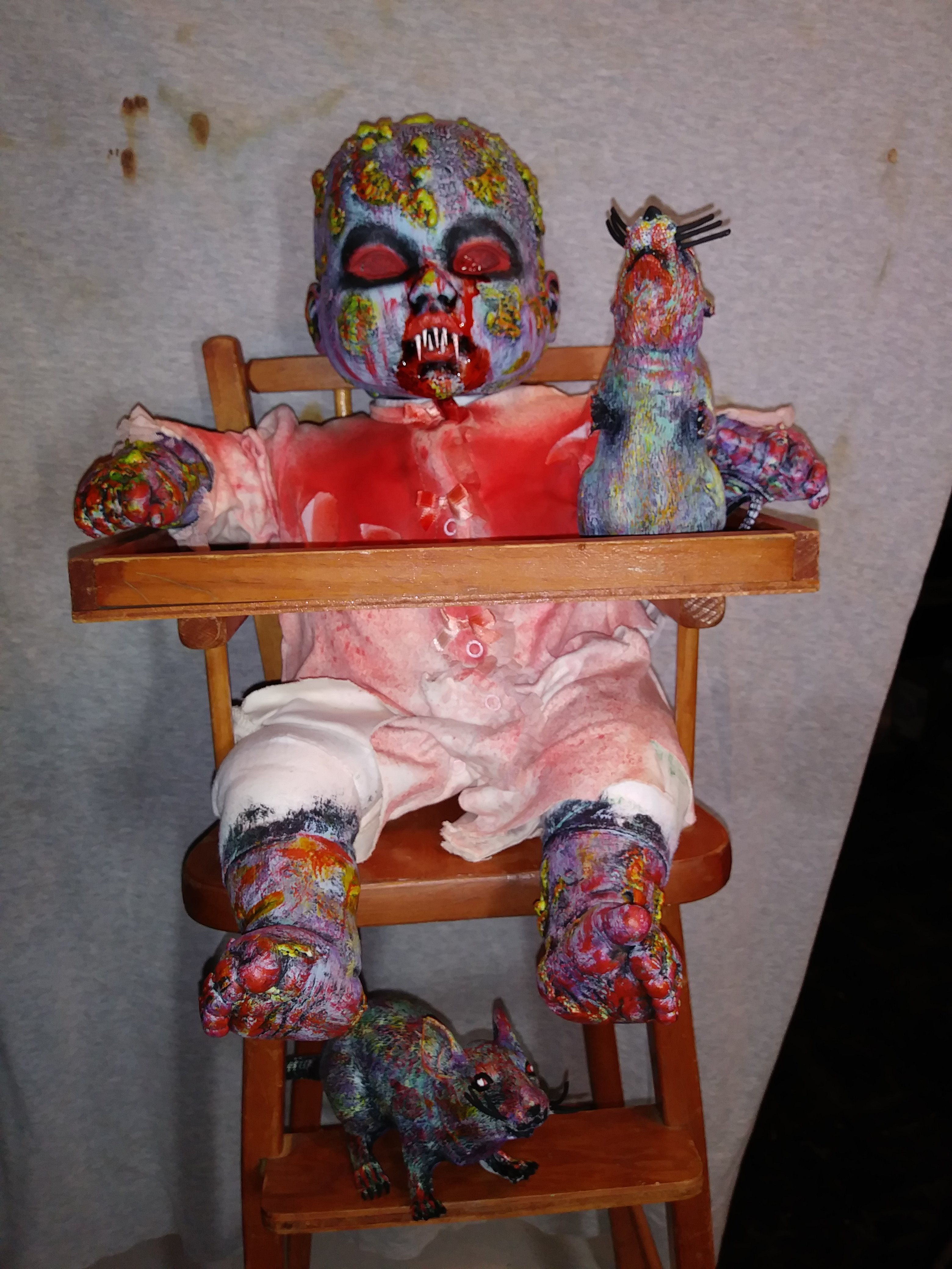 Picture of Creepy Zombie Doll