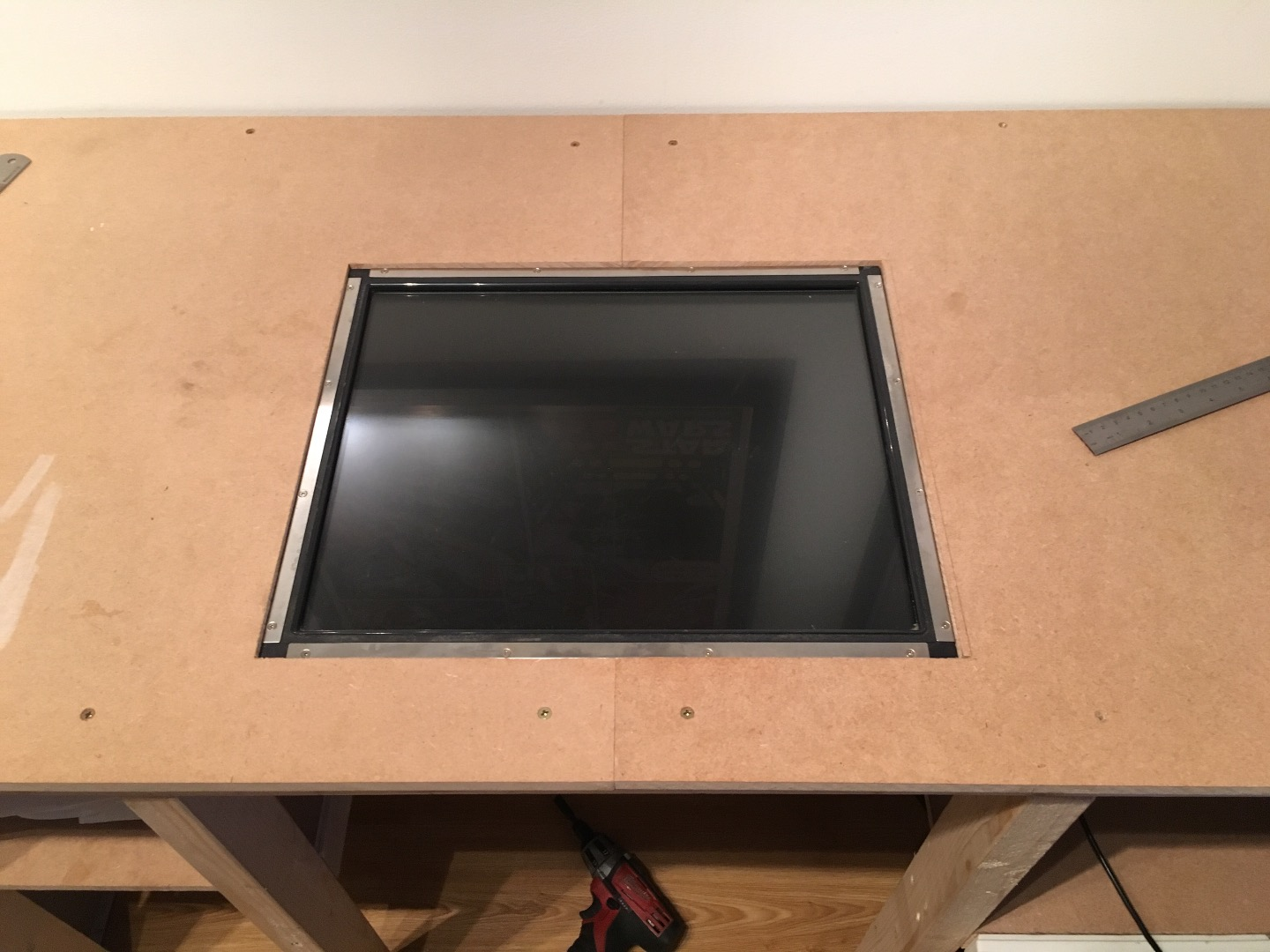 Picture of Fabricate/buy Some Cheap Brackets Then Mount the Screen
