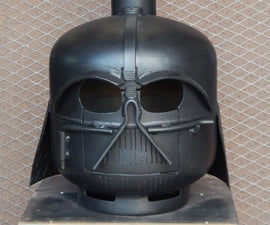Darth Vader Wood Burner Remix
