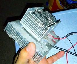 My Diy Peltier Cooler! - DECOMMISSIONED