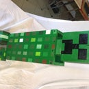 Minecraft Creeper From Pallet Wood