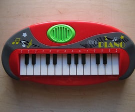 Wearable Piano Interface