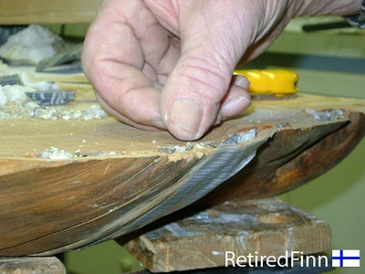 How to Fill Any Rotten or Damaged Areas of Your Table Top